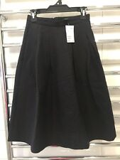 *NEW* H&M Jacquard Midi A-Line Skirt - AU 6