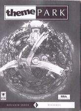 Theme Park  (PC, 1995) Disc & Manual Free USA Shipping!