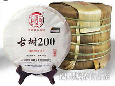 357g cake raw puerh tea raw puer tea green tea GuShu 200 year-old tree Year 2013