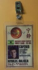 Serenity/Firefly Id Badge-Captain Malcolm Reynolds cosplay costume prop