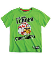 Boys NWT OFFICIAL ANGRY BIRDS STAR WARS  top tshirt 4 5 6 7 8 9 10 11 12 13 YRS
