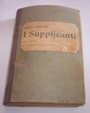 El SUPLICANTES Henri Barbusse 1920 M. Carra Publicación novela libro