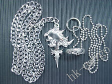 Final Fantasy VIII 8 FF8 Lion Heart Rinoa Ring Necklace 2.0