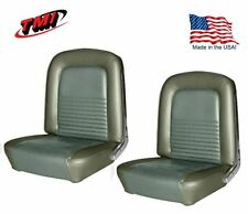 1967 Mustang Front Bucket Seat Upholstery- Pair- Ivy Gold by TMI - IN STOCK!!