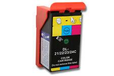 Cartouche couleur compatible pour Dell 21 / 22 / 23 / 24