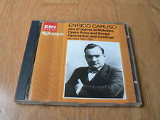 Enrico Caruso : Opera Arias and Songs - Airs d'Opéras - CD EMI Références 1988