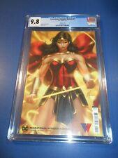 Sensational Wonder Woman #1 Variant CGC 9.8 NM/M Gorgeous Gem Wow