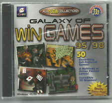 Galaxy of Win Games 95/98 Includes 50 Games EGames CD-ROM (NEW)
