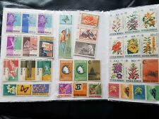 Republik Indonesia Stamps 1960's Some Have Post Marks