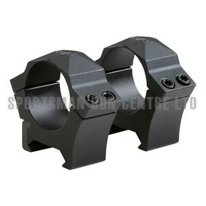 Sig Sauer Alpha Hunting Rifle Scope Rings 1 Inch High Black 2Pk