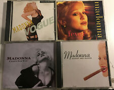 Madonna 6 CD Lot!  Crazy For You, Deeper and Deeper, Vogue, Fever