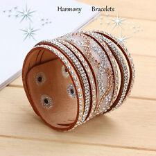 Tan Swarovski Elements Boho Bracelet by Harmony Bracelets