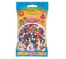 Hama - 207-00 - Sachet 1000 Perles à repasser Multicolore