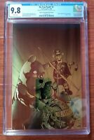 DO YOU POOH #1 CGC 9.8 METAL COVER GREEN LANTERN HOMAGE .