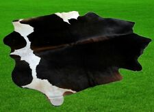 "100% New Cowhide Rugs Area Cow Skin Leather (45"" x 41"") Cow hide SA-1774"