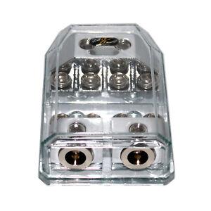 Stinger SHD823 Fused Distribution Block Multi-Gauge MIDI Fuse HPM Series 2in/out