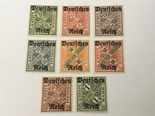 old stamps  WURTEMBERG     x  8  MH