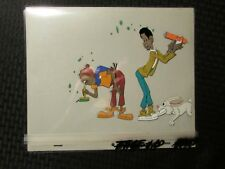 "FAT ALBERT Cartoon 12.5x10.5"" Animation Prod. Cel - Filmation - FAE-10 H-91"
