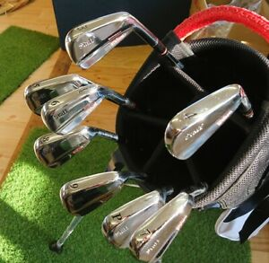 Miura Made WILSON Staff Muscle Back Irons Japan (S) S200 3-PW Rare (8x) Stunning