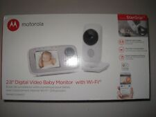 """Motorola MBP667CONNECT 2.8"""" Video Baby Monitor with Wi-Fi Viewing, Digital Zoom"""