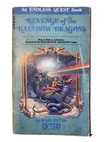 Revenge of the Rainbow Dragons, Endless Quest Book Dungeons & 1983, 1st Printing