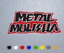 MOTORCYCLE STICKER PEGATINA DECAL VINYL AUTOCOLLANT AUFKLEBER Metal Mulisha