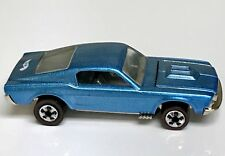 Hot Wheels Redline Lt. Blue Custom Mustang Vintage Series MINT China Release