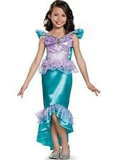 Disguise Ariel Classic Disney Princess The Little Mermaid Costume Small4-6x by