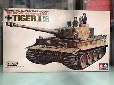 tamiya 1/25 dtw111 Panzerkamphwagen VI Tiger I Sd.Kfz181 Ausf  motorised parts