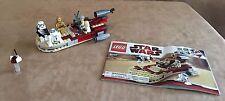 8092 Lego Luke's Landspeeder Star Wars complete instructions minifigure