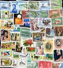 Dominica - Dominica 500 Francobolli Diversi