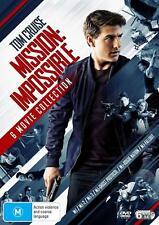 MISSION IMPOSSIBLE 1-6 (1996-2018): COMPLETE -  Aust Reg4 6x DVD - 6 Movie Set
