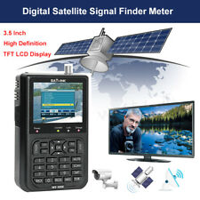 "Satlink WS-6906 Satellite Signal Finder Receiver Meter DVB-S 3.5"" FTA Fit TV AV"