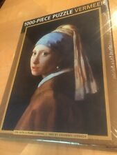 New GIRL WITH PEARL EARRING Vermeer 1000pc PUZZLE Art Museum PAINTING Poster
