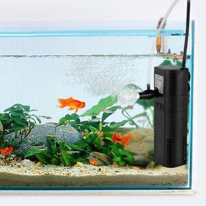 6W 450 L/h Aquarium Innenfilter Aquarium Pumpe für Aquarium bis 60 Liter Filter