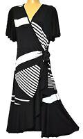 TS dress TAKING SHAPE plus sz S / 16 Derby Dress stretch wrap sexy NWT rrp$150