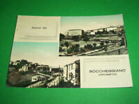 Cartolina Boccheggiano ( Grosseto ) - Panorama 1950 ca.