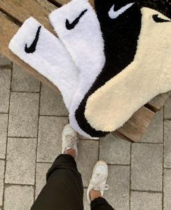 Small Custom Fluffy Socks - Shaggy Accent Bedroom Rug