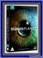 HUMAN PLANET- 2011 RELEASE  BBC DVD COMPLETE SERIES NEW