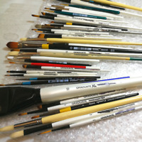 Mixed Pack of Daler-Rowney Factory Seconds Paint Brushes