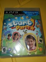 Start the Party (Sony PlayStation 3) PS3 Video Game, Factory Sealed