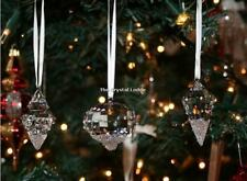 SWAROVSKI CHRISTMAS ORNAMENTS (SET OF 3) 5223618 MINT BOXED RETIRED RARE
