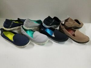 NEW Women's Crocs Stretch Sole Skimmer Flat Slip On Loafers Shoes SZ 6 7