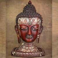 Natural Carving Buddha Head