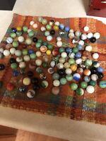Lot of Vintage Marbles -