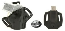 S&W 380 BG Insight Laser OWB Shield Holster and OWB 380 Mag combo R/H Black