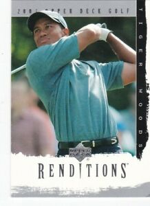 2003 Upper Deck Renditions Golf Pick Your Cards!  Complete Your Set!