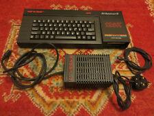 Sinclair ZX SPECTRUM +3 128k-con Alimentatore - 1 gioco e Tv Piombo