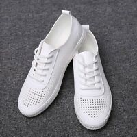 Running Sport Shoe Flats Casual  New Womens Fashion Sneakers Breathable Lace Up