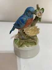 Bluebird Music Box Figurine